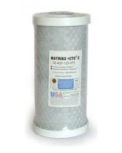 "Matrikx CTO Whole House 10"" X 4½"" Filter Cartidge"