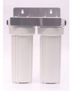 Half inch inlet Twin Filter Housing