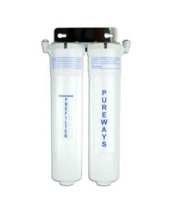 Quick Change Pureways Twin Undersink System